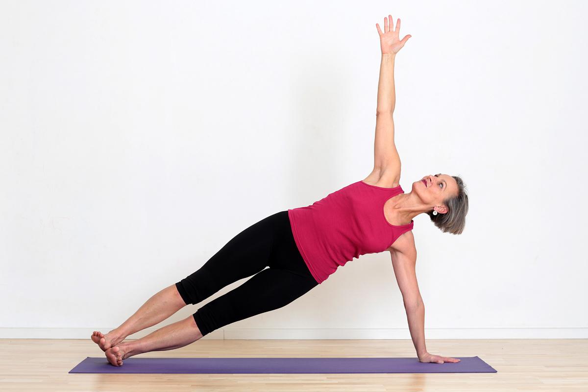 Yoga-Herausforderung-Mut