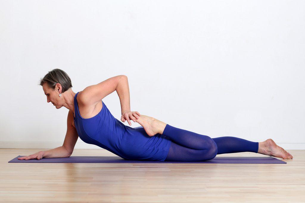 Yogalehrerin Mona Seyferth
